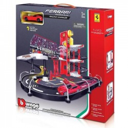 Bburago Ferrari Racing Garage