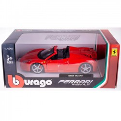 Ferrari 458 Spider 1:24 model Bburago 18-26017