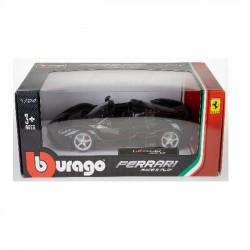 Bburago 1:24 Ferrari LaFerrari Aperta Black 18-26022BK