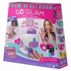 Spin Master - Cool Maker GO GLAM Nail Stamper Salon Zestaw do zdobienia Paznokci Manicure/Pedicure 20120187