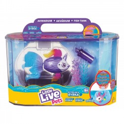 Cobi Little Live Pets 26164 Akwarium i pływająca rybka