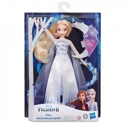 Hasbro Disney Frozen Kraina Lodu 2 - Lalka Królewska Muzyczna przygoda Śpiewająca Elsa E8880