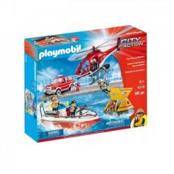 Playmobil Misja Ratownicza Straży Pożarnej 9319