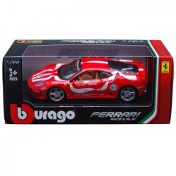 Bburago Ferrari F430 Fiorano 1:24 czerwony 18-26009