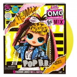 L.O.L. SURPRISE - Lalka O.M.G. REMIX POP B.B 567257e7c