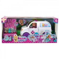 Simba Lalka Doktor Evi Ambulans 2w1 5733488