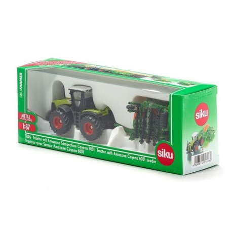 Siku Traktor z siewnikiem Amazone 1826