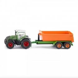 Siku Farmer - Traktor Fendt z podnośnikiem 1989