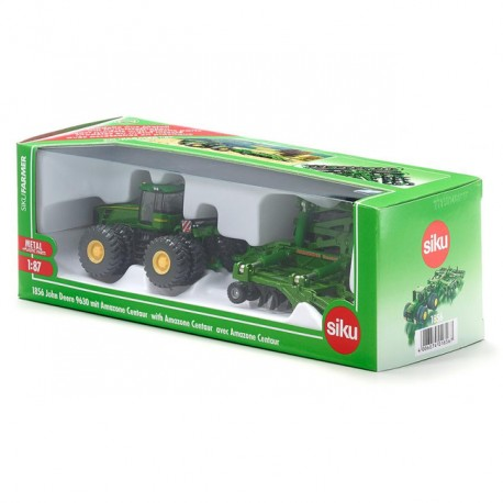 Siku Traktor John Deere 9630 z rozrzutnikiem1856