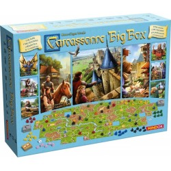 Gra planszowa Bard Carcassonne Big Box 6