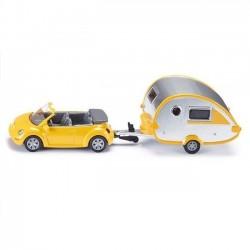 Siku Samochód z przyczepą campingową 1629