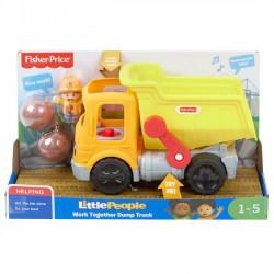 Fisher Price Pojazd Little People Wywrotka Małego Odkrywcy gmx89