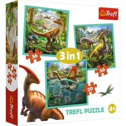 Trefl Niezwykły świat dinozaurów 34837