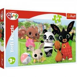 Trefl Puzzle 24 Elementy Zabawa w parku 14306
