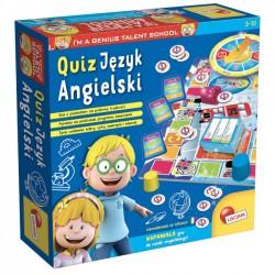 Mały Geniusz Quiz- Język Angielski 54367