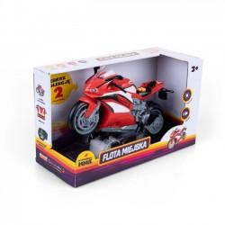 Odjazdowy Motocykl Sportowy Czerwony ht68811