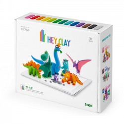 Hey Clay Masa Plastyczna Dinozaury 0068