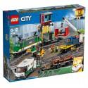 LEGO Klocki City 60198 Pociąg towarowy