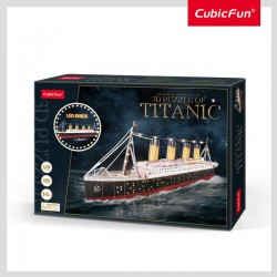 Puzzle 3D Led Titanic 521