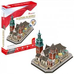 Puzzle 3D Katedra Na Wawelu - Zesytaw XL 2262