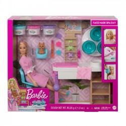 Barbie Zestaw Salon Spa gjr84