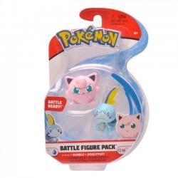 Pokemon Figurki Battle Sobble+Jigglypuff 97627