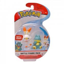 Pokemon Figurki Battle Munchlax+Scorbunny 97626