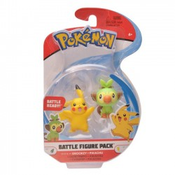 Pokemon Figurki Battle Grookey+Pikachu 97625