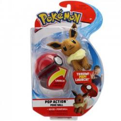 Pokemon Pop Action Poke Ball eeveei Maskotka 95091