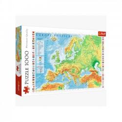 Mapa Fizyczna Europy 10605