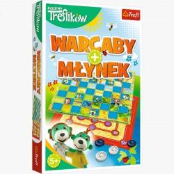 Gra Warcaby Młynek Trefliki 01920