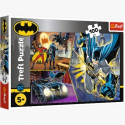 Puzzle 100el. Nieustraszony Batman 16394