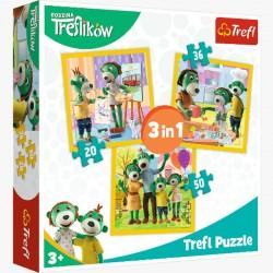 Puzzle 3w1 Razem jest wesoło 34850