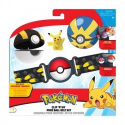 Pokemon Clip 'N' Go Poke Ball Pas + Figurka Pikachu Seria 5-98005
