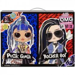 LOL Surprise OMG Remix Dwupak Punk Grrrl i Rocker Boi 567288