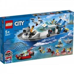 LEGO City - Policyjna łódź patrolowa 60277