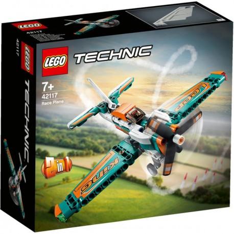 LEGO Technic - Samolot wyścigowy 42117