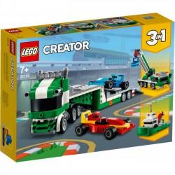 LEGO Creator - Laweta z wyścigówkami 31113