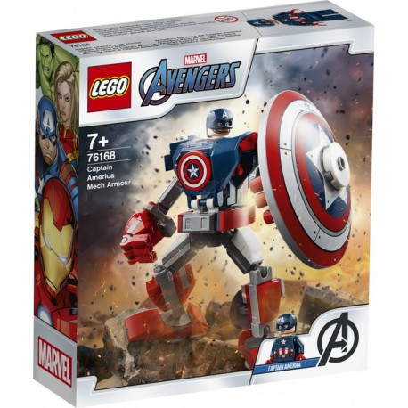 LEGO Super Heroes - Opancerzony mech Kapitana Ameryki 76168