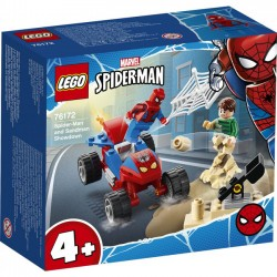 LEGO Super Heroes - Pojedynek Spider-Mana z Sandmanem 76172