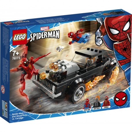LEGO Super Heroes - Spider-Man i Upiorny Jeździec kontra Carnage 76173