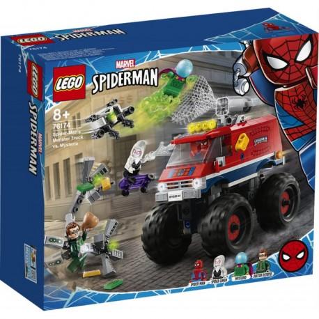 LEGO Super Heroes - Monster truck Spider-Mana kontra Mysterio 76174