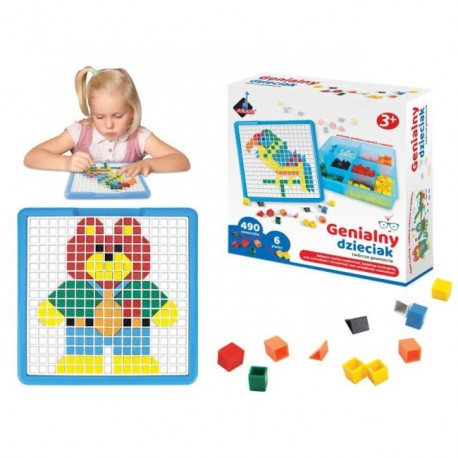 Genialny Dzieciak Mozaika - 490 El. 101002