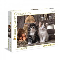 Puzzle 1000el Lovely kittens  - High Quality Collection 39340