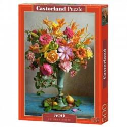 Puzzle 500 elementów. Jesienne kwiaty 53537