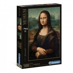 Puzzle 500 elementów Leonardo  Gioconda - Museum Collection 30363