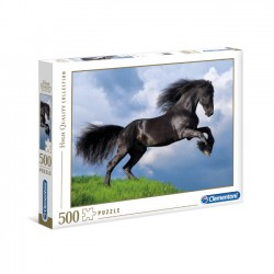 Puzzle 500el. Fresian Black Horse - High Quality Collection 35071