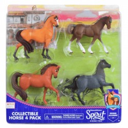 Mustang Duch Wolności Spirit - Figurki 4 sztuki 39365