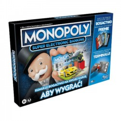 Gra Monopoly Super Electronic Banking E8978