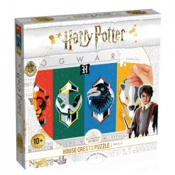 Harry Potter House Crest Herby 500 Elementów 39574